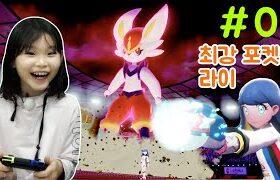 라임의 최강 포켓몬 라이! 🤩포켓몬스터 소드 1편 ポケモン Lime's strongest Pokemon Rai! 🤩pokemon sword