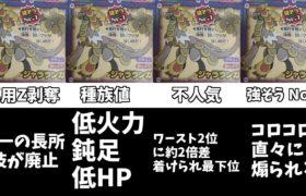 【ポケモン】なぜジャラランガは600族の恥なのか【ポケモン剣盾】【比較系】