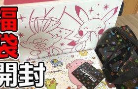 【7万円分】ポケモン公式の福袋とか買ったので全部まとめて開ける【新年のご挨拶など】