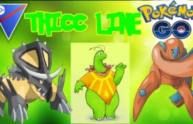 9-1 WITH THICC TEAM IN GO BATTLE LEAGUE! | Pokemon Go Great League PvP