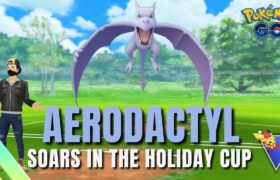 AERODACTYL ROCKS THE HOLIDAY CUP (4-Win Streak) | Pokemon Go Battle League Spice Showcase