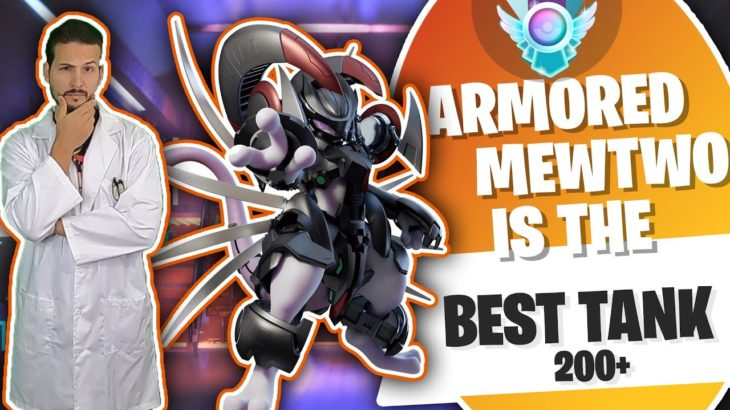 Armored Mewtwo is so Tanky in Pokemon Go Battle League