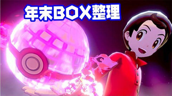 【ダブルバトル】年末のBOX整理枠【ポケモン剣盾】