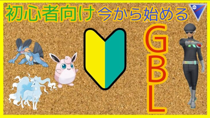 初心者用、GBL今から始める方!使い方簡単で、勝てるパーティー教えるよっ!楽しいから始めようぜ!【GOバトルリーグ PvP  ポケモンGO】