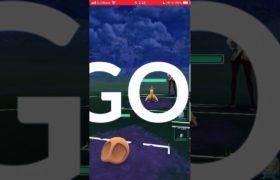 【ポケモンGO】 No.140 カブト マッドショット&がんせきふうじ/Pokémon GO No.140 Kabuto Mad Shot & Ganseki Fuji  #shorts