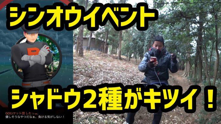 【ポケモンGO】厳しみあふれるシャドウ2種!シンオウコレクションチャレンジ!