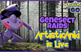 🔴Genesect Raids | Pokemon Go Live Stream #artisticanki #pokemongo #hooh