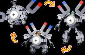 レゴ コイルの変形ロボ作ってみた【ポケモン】LEGO Pokémon Transforming Magnemite