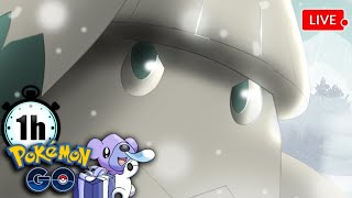 [🔴 LIVE!!] SPOTLIGHT HOUR – SNOVER | Pokemon GO