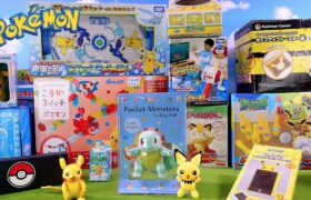 Lots of Pokemon Toys and Merchandise Unboxing