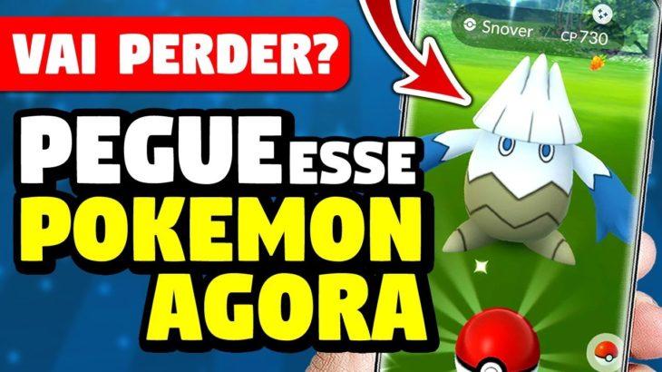 🔴 PEGANDO Pokemon SHINY na Hora do Holofote no Pokemon Go