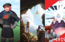 《Pokemon GO》與寶可夢好友一起對戰席多藍恩!Team GO Rocket 火箭隊!ヒードラン Heatran!