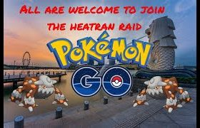 [Pokemon Go Live] Heatran Raid Invitation 席多藍恩團體賽 6717 3840 0325 寳可夢Go ポケモンGo