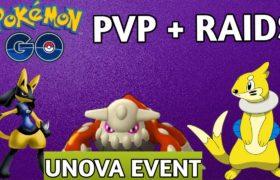 Pokemon go live | PVP and Raids of Heatren | Trade | invitation for raid | unova Event | shiny hunt