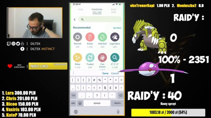 Raid Hour! Shiny Groudon & Kyogre hunt! Pokemon GO