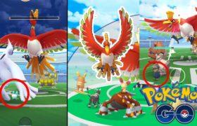 Regirock Protects His Master During Ho-oh Raid Boss Pokemon Go |  Ho oh Legendary Raid Meme 2021