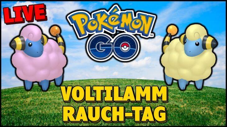 ⚡ Voltilamm Rauch-Tag und Raids mit euch – Pokemon Go [Live]