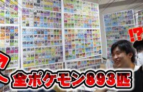 ポケモンカード全種類集めて家の壁紙にしてみた【ドッキリ】
