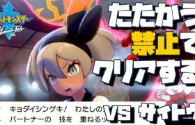 【ポケモン剣盾】たたかう禁止でクリアする!【vs サイトウ】