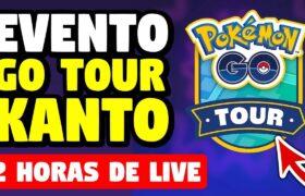 COMEÇOU!!! POKEMON GO TOUR: KANTO – 12 HORAS DE LIVE