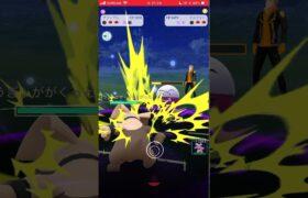 【ポケモンGO】 No.210 グランブル バークアウト&インファイト/Pokémon GO No210 Granbull Barkout & Infight #shorts