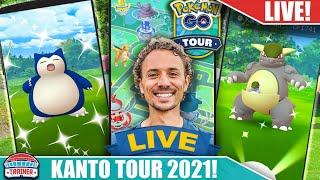 Kanto Tour Live Stream | Pokémon GO