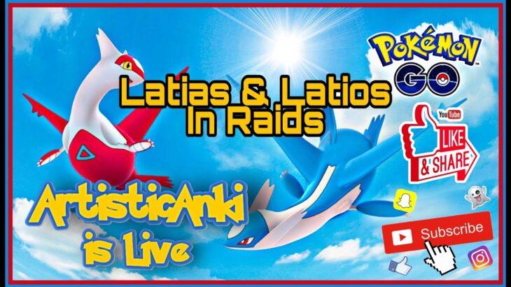 ❤💙Latias & Latios Raid | Pokemon Go #latias #latios #raidinvitation #pokemongo
