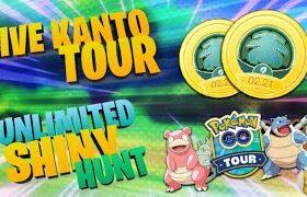 Live Kanto Tour Pokémon Go | Shiny Ditto | Trade | prvn3122 live