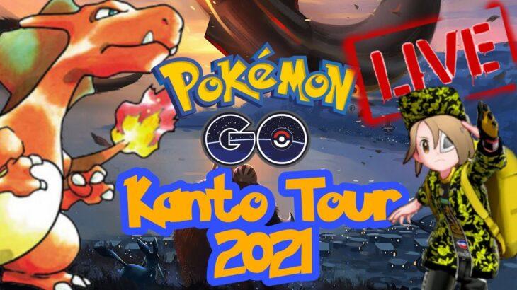 🔴 Live Kanto Tour Shiny Hunt & Random Raids – Pokemon Go Deutsch 2021