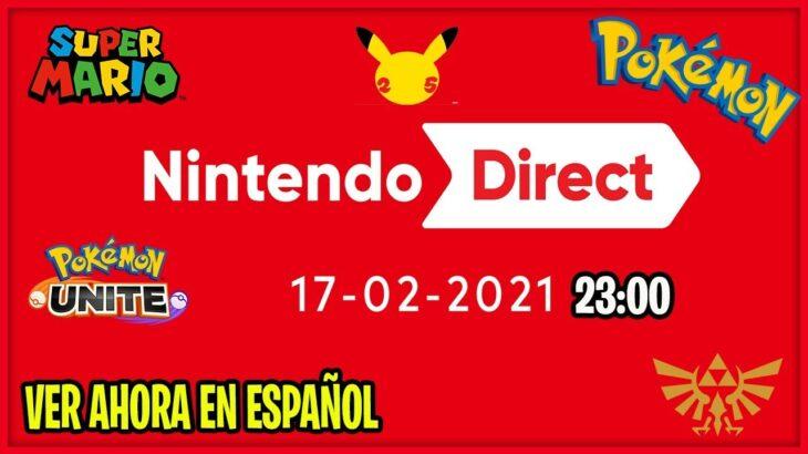 NINTENDO DIRECT *AHORA* ESPAÑOL NUEVOS JUEGOS & NOTICIAS POKEMON!???
