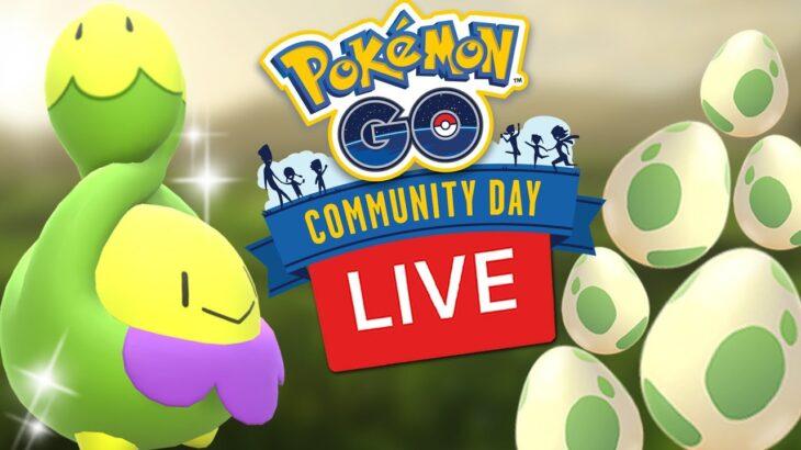 Roselia Community Day Shiny Budew Egg Hatch Pokemon Go Live