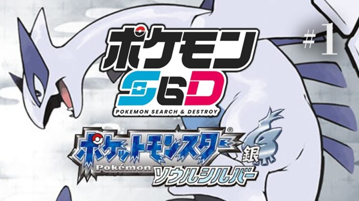 ポケモンS&D(人生縛り)ソウルシルバー編#3