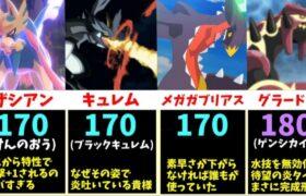 【力こそ正義】圧倒的パワーを誇る、ポケモンの「攻撃」TOP20まとめ【比較動画】【ポケモン剣盾】