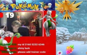 pokemon go (live stream) road to 500 subs