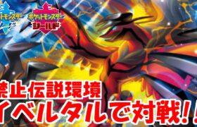 【ポケモン剣盾】「イベルタル」がガチで強すぎる生配信