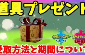 【ポケモンソードシールド】特別な道具プレゼントの受け取り方!ワイルドエリアニュースのピックアップポケモンのこと