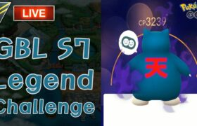 生配信3/24 GBL S7 Legend Challenge ポケモンGO バトルリーグ ハイパーリーグ