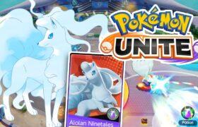Alolan Ninetales – Ice pokemon in Pokémon UNITE BETA GAMEPLAY – ポケモンユナイト キュウコン 阿羅拉九尾 寶可夢大集結 Kyukon