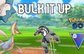 INTENSE Battles with a BULKY Team!   Pokemon Go Battle League Great PvP