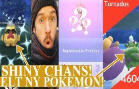 Pokemon GO på Svenska | NY POKÉMON + SHINY NOSEPASS & TORNADUS CHANS!  | Johans Pokemon GO
