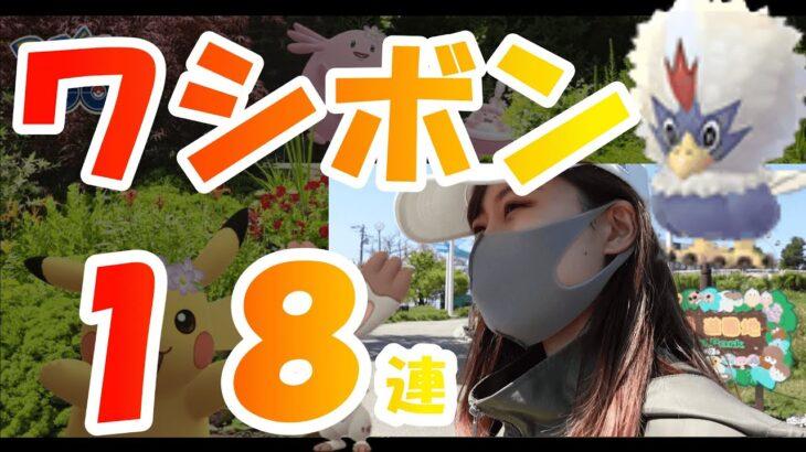 「ポケモンGO」ワシボン18連!春イベント