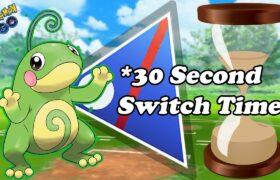 *NEW* 30 SECOND SWITCH TIMER CREATES INSANE GREAT LEAGUE BATTLES | Pokemon Go Battle League PvP