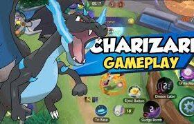 POKEMON UNITE: Charizard Gameplay | Beta Test