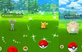 Pokemon Go Shiny Bunnelby & Flower Chansey✓-Pikachu Hunt