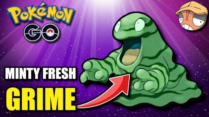 Shiny XL KANTO GRIMER Absolutely *DESTROYS* Double Charm! [Pokemon GO Battle League]