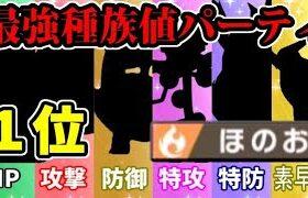 【ポケモン剣盾】各能力の1位を集めて最強の炎統一パーティを作ったぞ!!【唯一無二】