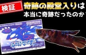 祝:1周年【番外編│RSポケモンリーグ】ペットの魚がポケモンクリア_Fish Play Pokemon【作業用BGM】