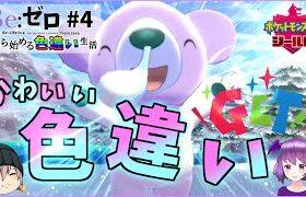 【ポケモン剣盾】色違いマスコット枠ゲット!-色違い生活#4-【ゆっくり×バーチャル】