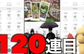 よもやよもや!?最終日ドーブルスナップ累計120連で勝負を賭ける秋田人!【ポケモンGO】