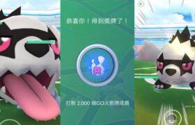 《Pokemon GO》打敗2000個GO火箭隊成員!我也想要色違伽勒爾蛇紋熊!ジグザグマ Zigzagoon!